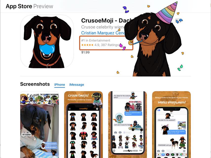 crusoe emoji best app